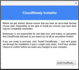 Install CloudReady